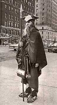Moondog à New-York