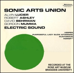 Sonic Arts Union ?- Electric Sound (Mainstream Records, 1972).